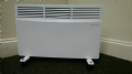 Ambient Air 1.5 kw Panel / Convector Heater Floor Standing with Castors